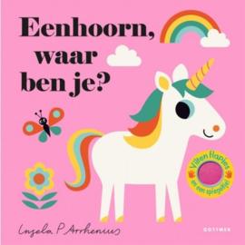 Kinderboek -  Eenhoorn, waar ben je?