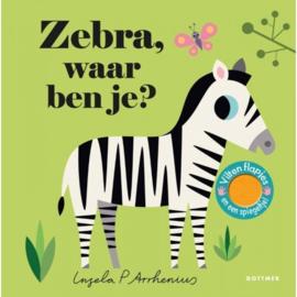 Kinderboek - Zebra, waar ben je?