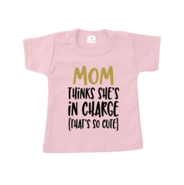"""Mom in charge """"pink"""""""