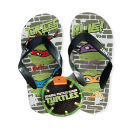 Slippers Ninja Turtles grey