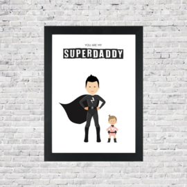 Familie poster superdad(grandpa)