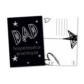 DAD postcard