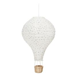 Luchtballon lamp night sky
