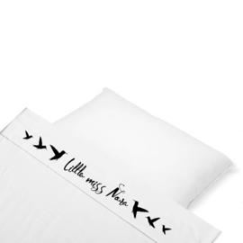 Naam wieglaken miss/mister hummingbird