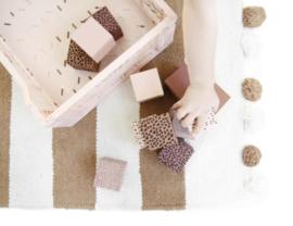 Foam Blokken pink + Bewaar Zak