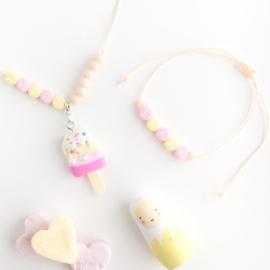 Candy bracelet met naam