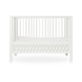CamCam harlequin baby bedje white