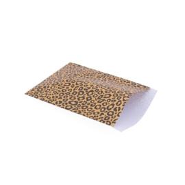 Vlakke zakjes leopard
