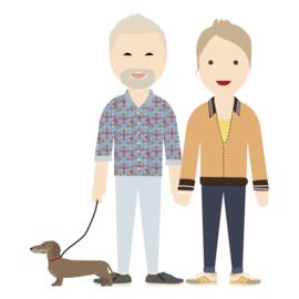 Familie poster avatar full body 2.0