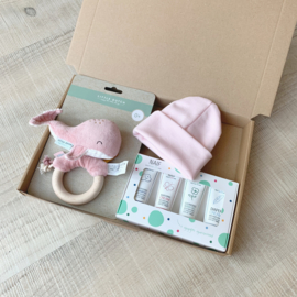 Levi's choice geboortepakket pink 2