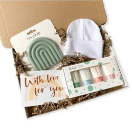 Rainbow sage geboorte pakket (2)