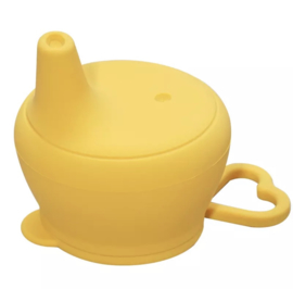 Sippy cup ocher yellow