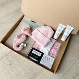 Levi's choice geboortepakket pink