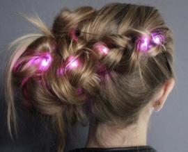 Ibiza hairlights - roze
