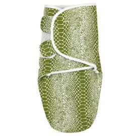 Meyco inbakerdoek snake avocado 4-6 mnd.