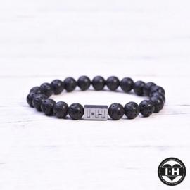 Lava stone kids bracelet