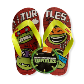 Slippers Ninja Turtles red