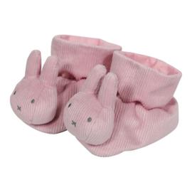 Nijntje pink baby rib Boxpantoffels