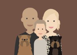 Familie poster avatar