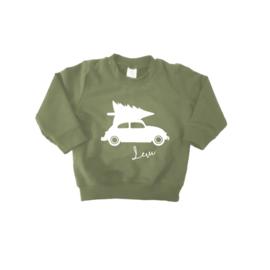 """X-mas volkswagen sweater """"Groen"""""""