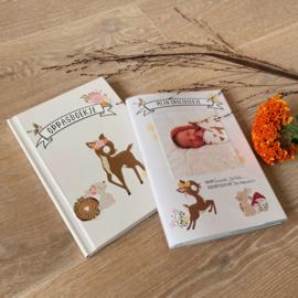 Oppasboekje + GRATIS groeiboekje cover!