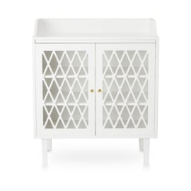 Harlequin commode white
