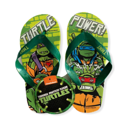 Slippers Ninja Turtles green