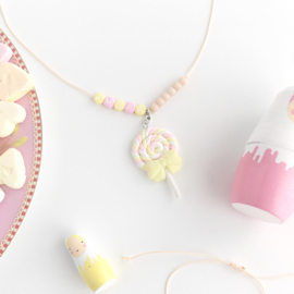 "Necklace candy ""Spek lollie met naam"""