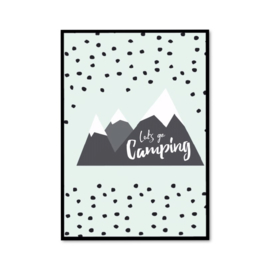 Mountain poster mint
