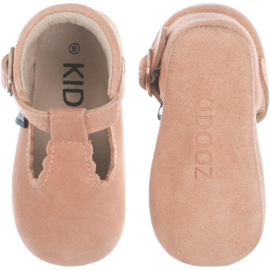 KIDOOZ Ibiza sandals blush suède