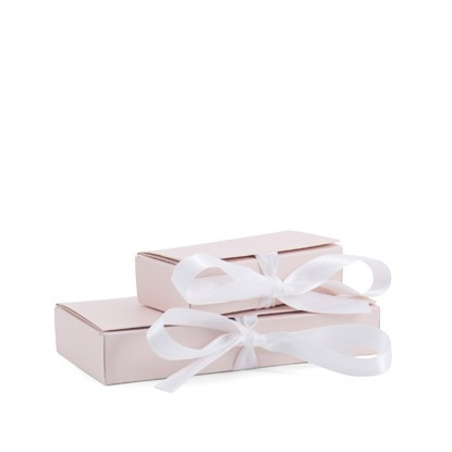 Giftbox with Ribbon Nude Pink