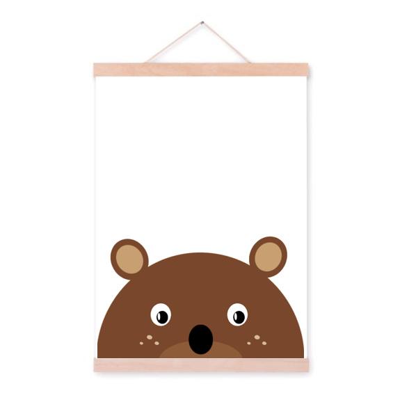Sneaky bear poster