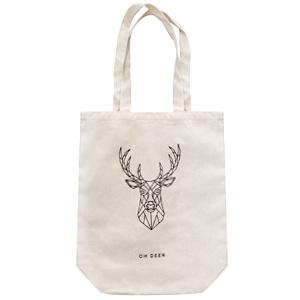 """Katoenen shopper """"Oh deer"""""""