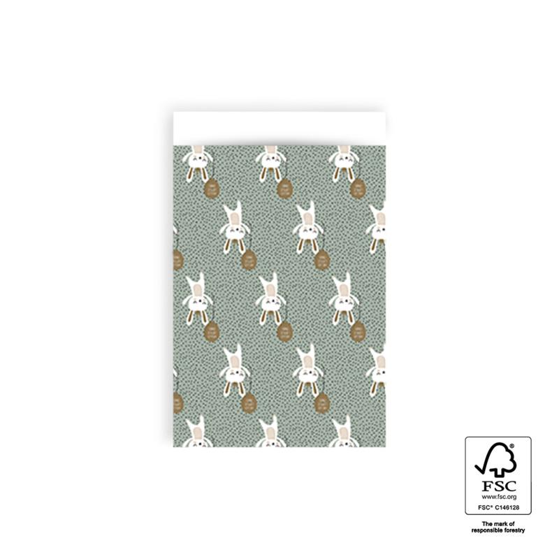 Inpakzakken - Baby Bunny - 12x19 cm