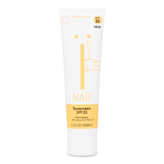 Natuurlijke zonnebrandcrème Baby & Kind SPF30