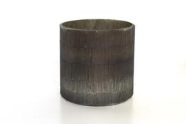 Waxinelichthouder nature - 12x12cm