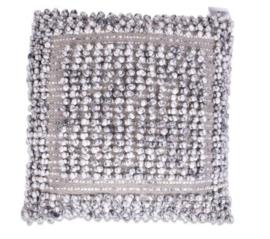 Kussen Kronos - zilvergrijs