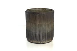 Waxinelichthouder nature - 9,5x8,5cm