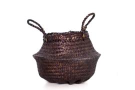 Basket bruin - 28x25x20 cm