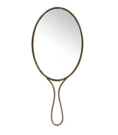 Spiegel Madame - goud/metaal