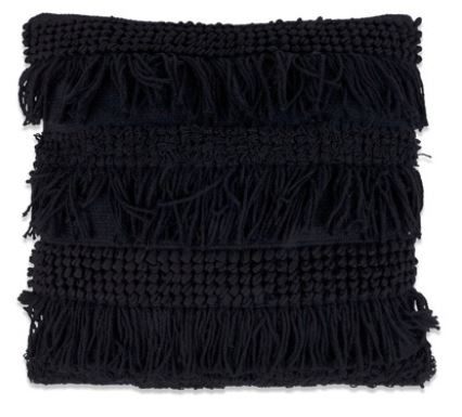 Kussen Tenerife - zwart
