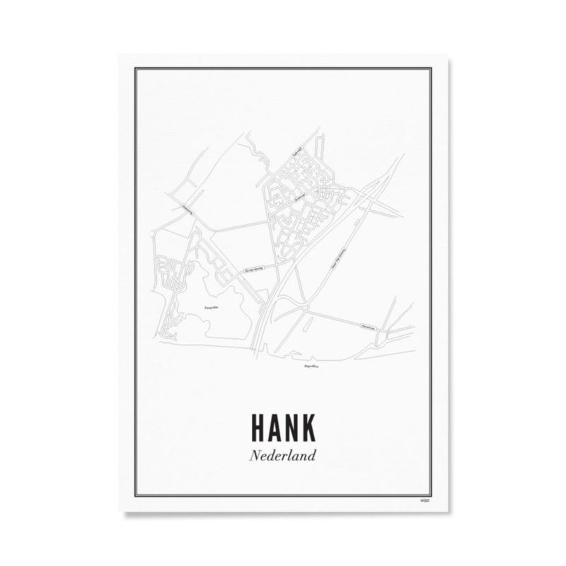 Wijck poster Hank - 21x30cm