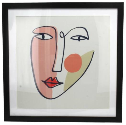 Wall plaque - face