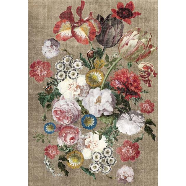 Karpet Bouquet beige/multi
