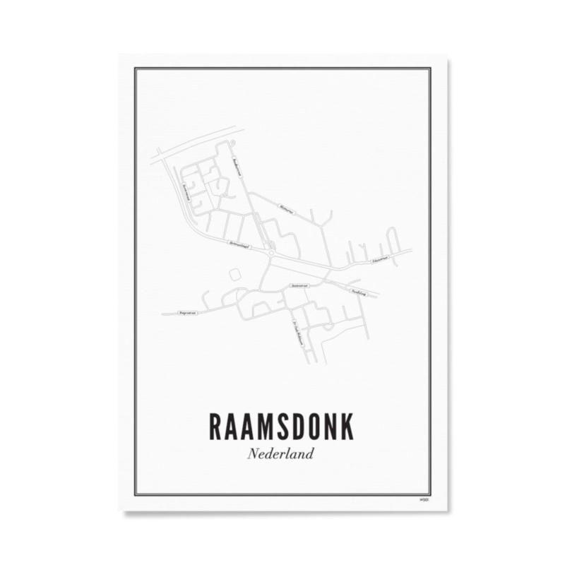 Wijck poster Raamsdonk - 30x40cm
