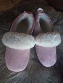 roze pantoffel