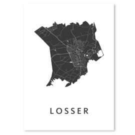 Losser city map