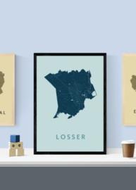 Losser city map