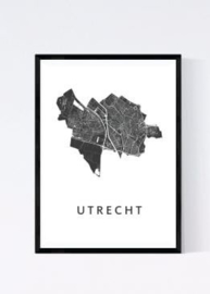 Utrecht  city map