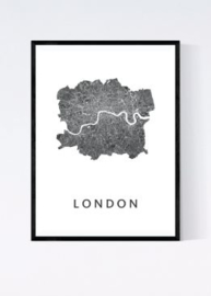 Londen city map